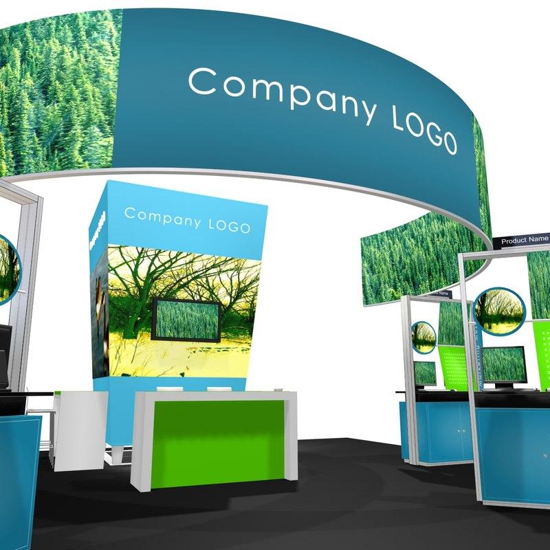 3d exhibit 30x30 display