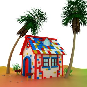 3d max small house