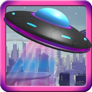 3d cartoon ufo model