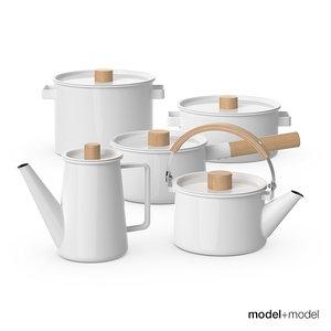 kaico enamel kitchenware set max