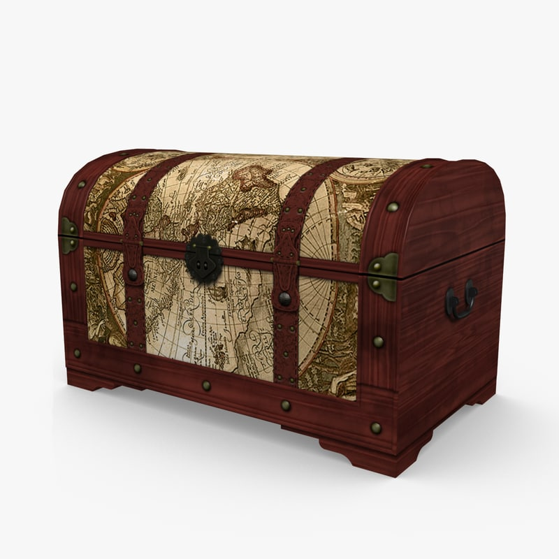 3d travelers trunk