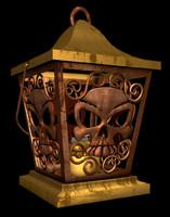 old lantern skull 3ds