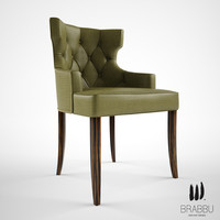 3d model brabbu maori dining chair