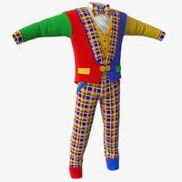 3ds clown clothes 2