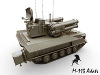 m-113 adats 3d model