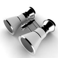 3d binoculars noculars model