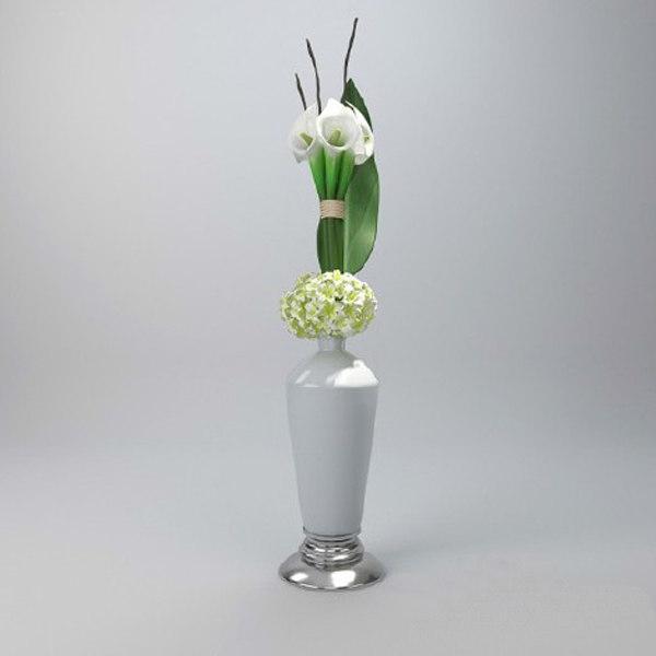 3ds max calla vase