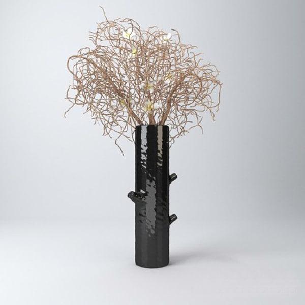 decorative vase 3d dxf