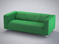 3d model loveseat klippan ikea