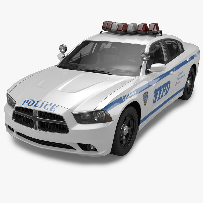 3dsmax 2012 dodge charger nypd police