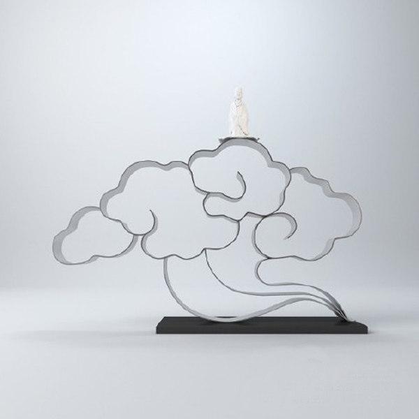 auspicious clouds 3d 3ds