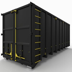 container - 3d max