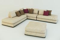 corner sofa ekmi milan 3d max