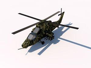 3d eurocopter tiger spain model