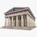 temple 3D models
