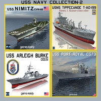 USS NAVY Ship Collection-