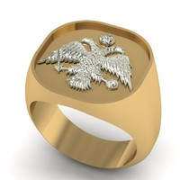 maya greek ring eagle orthodox