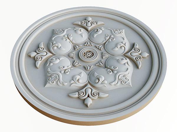 classical rosette max free