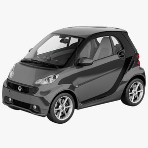 3d smart fortwo 2013
