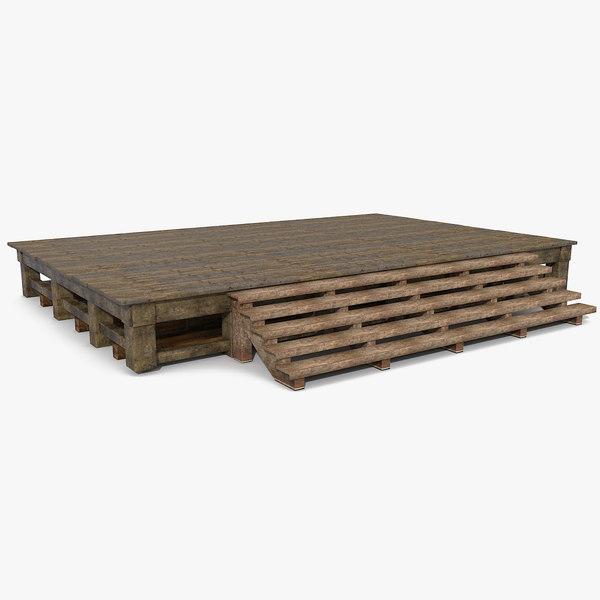 max platform wood