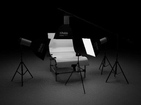 3d photo studio model