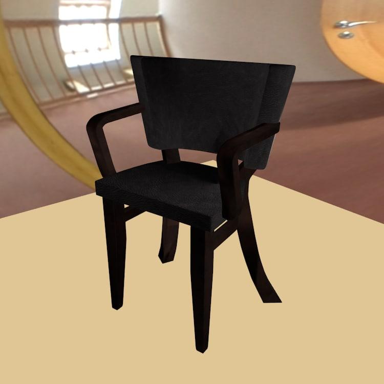 resolution chair 3d fbx