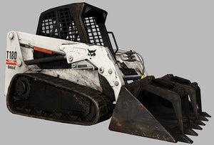 bobcat t180 3d 3ds