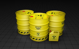 barrels hazardous 3ds
