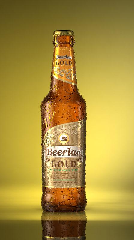lao beer bottle max
