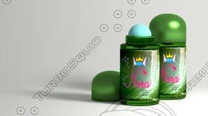 deodorant stick bottle obj