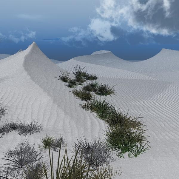 vue sand dunes white gold