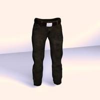 3d jeans model