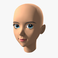 head animation 3d model