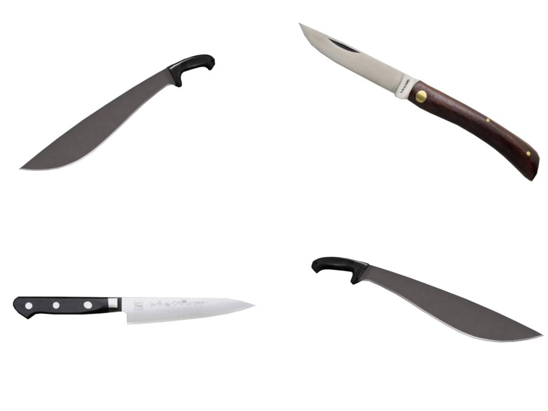 3dsmax kitchen knife