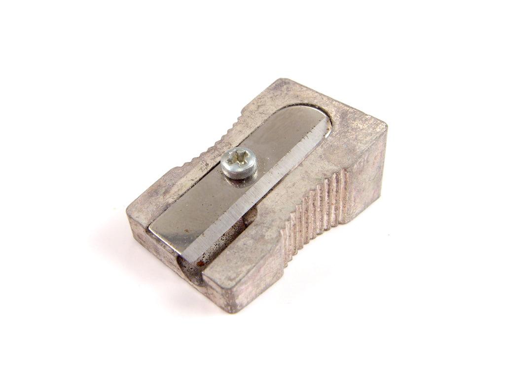 3d metal pencil sharpener
