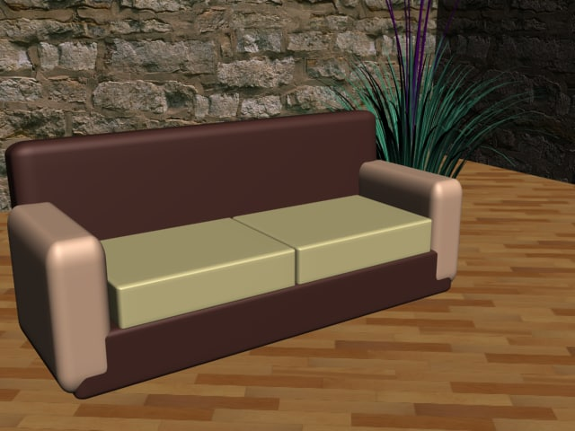 free 3ds mode sofa