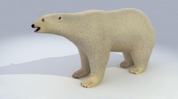 polar bear 3d 3ds