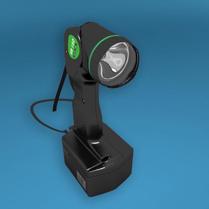 3d flashlight flash light