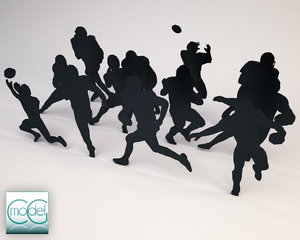 silhouette people x