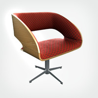 3d hd charlotte chair model