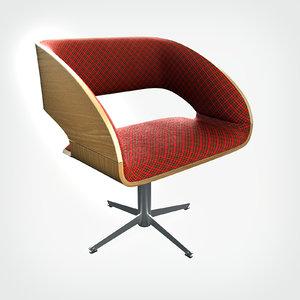3d hd charlotte chair model