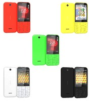 3d model of nokia 225 colors