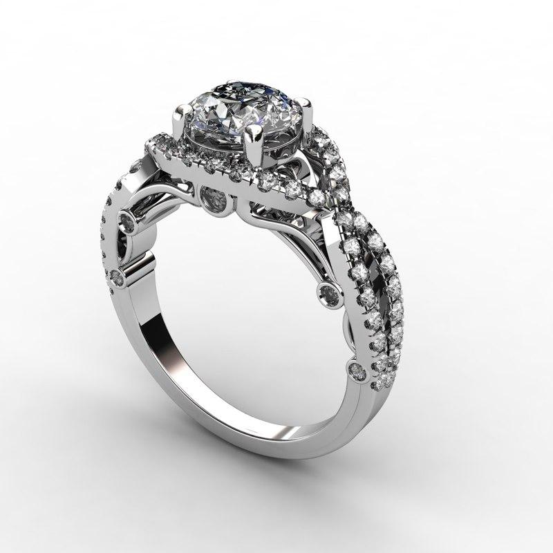 3ds diamond ring