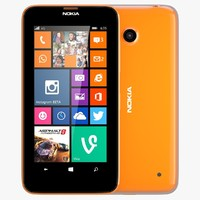 Nokia Lumia 630/635 Dual SIM Bright Orange
