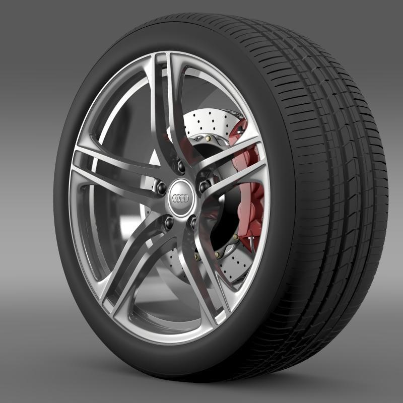 lwo audi r8 gt wheel