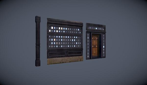 moduls pub 3d model