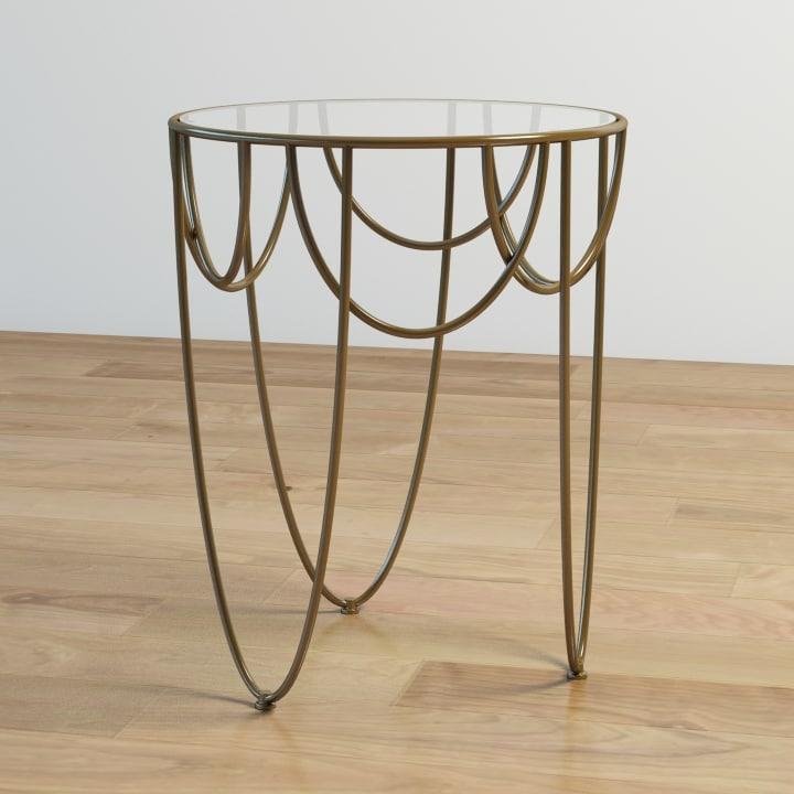 3d drapery table