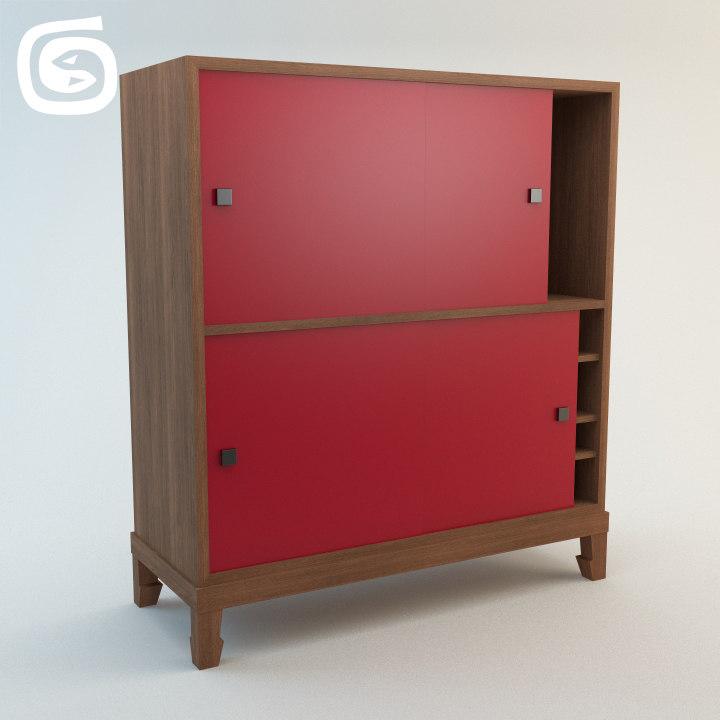 lehrecke cabinet 3d model