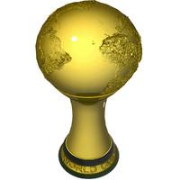 3d model world football cup