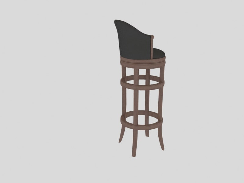 3d bar chair